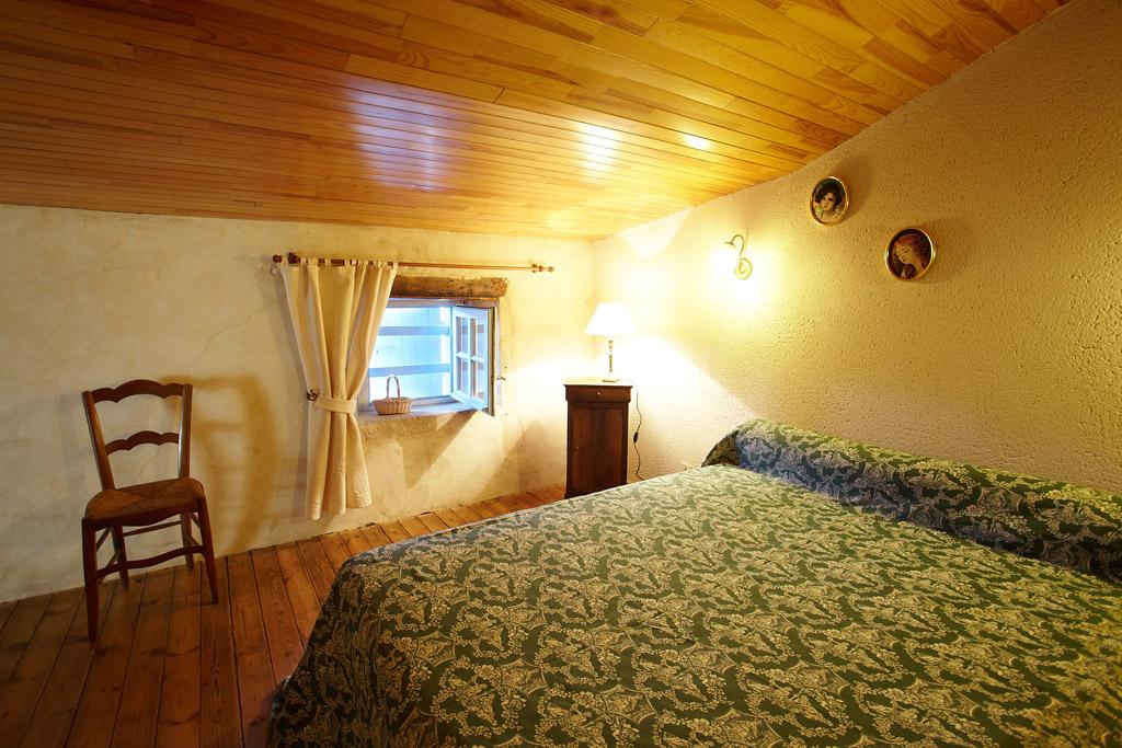 Gite Vendée, gite de la Gravée, chambre à l'étage