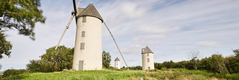 La colline des moulins Mouilleron Vendée