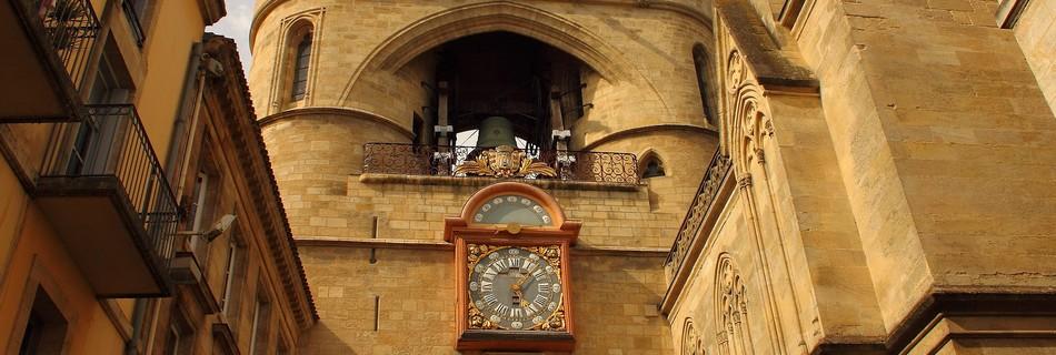 La grosse horloge La Rochelle à 50 kms du gite de la Gravée