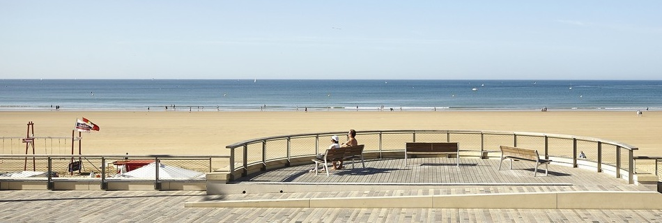 Les Sables d'Olonne Vendée, la grande plage