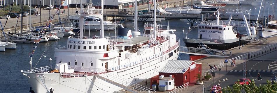 Musée maritime La Rochelle à voir en séjour au gite de la Gravée