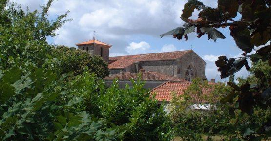 Saint Michel le CLoucq vue du gite de la Gravée Vendée