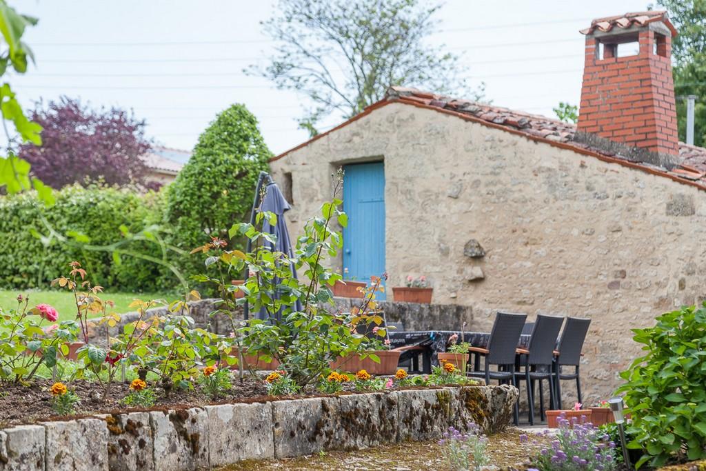 Les extérieurs du gite de la Gravée en Vendée
