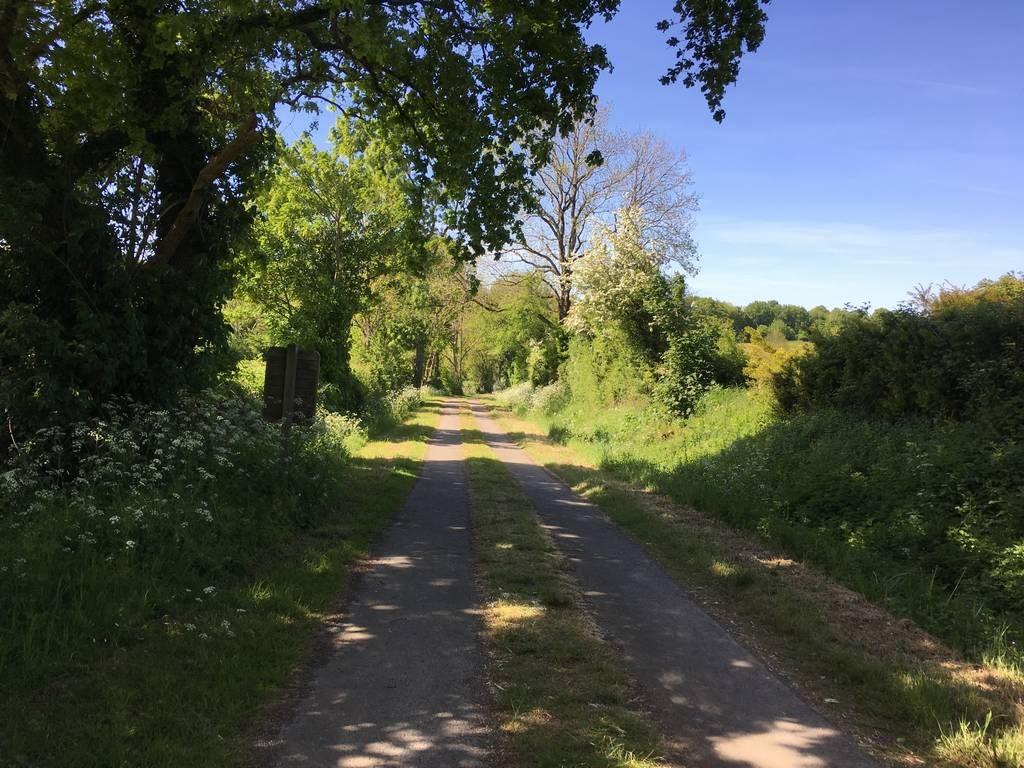 Vacances à vélo en Vendée, piste cyclable de Saint Michel le Cloucq