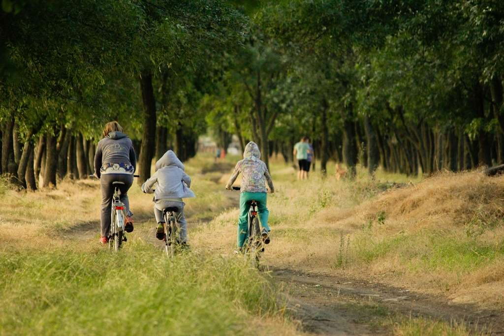 Vacances à vélo pour toute la famille