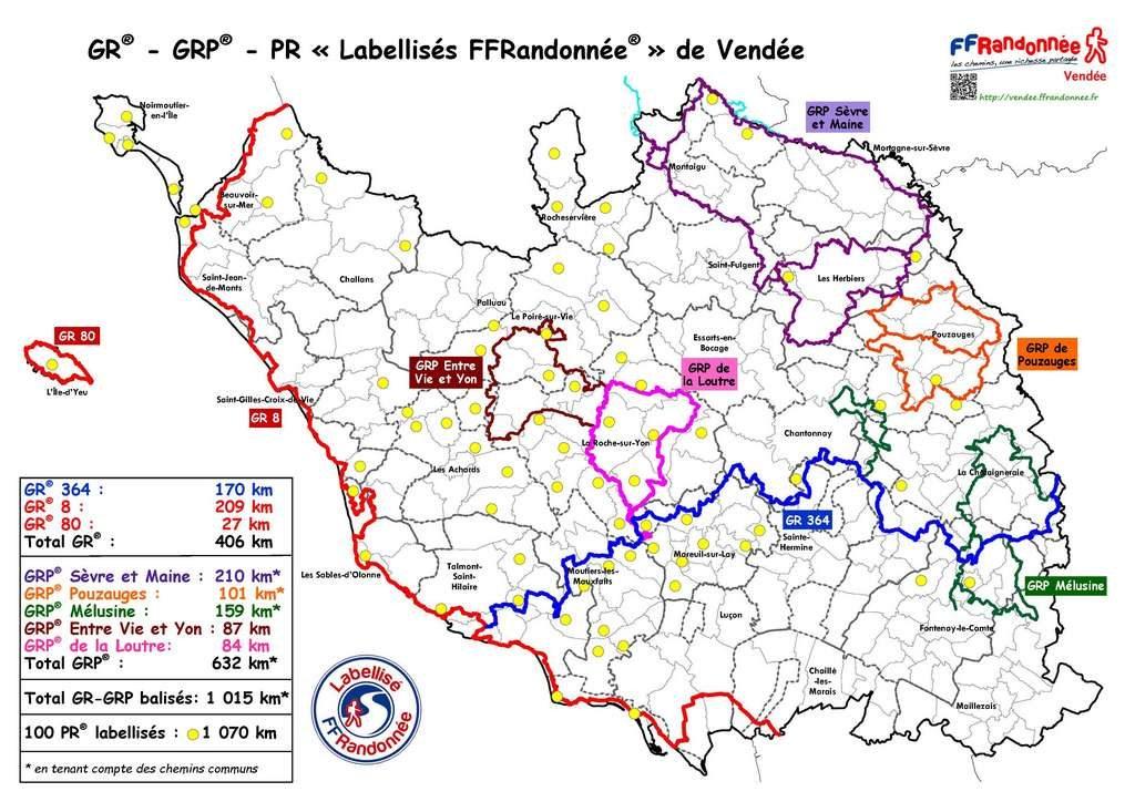 Location de vacances en Vendée pour randonneurs