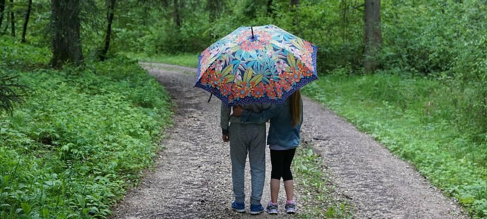 Vacances pluvieuses en Vendée, une promenade sous la pluie