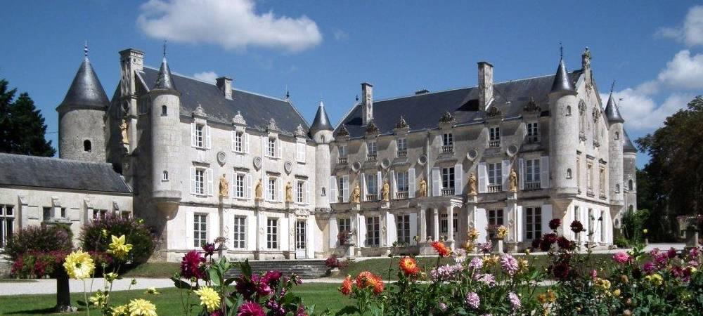 Chateau de Terre-Neuve à Fontenay le Comte en Vendée