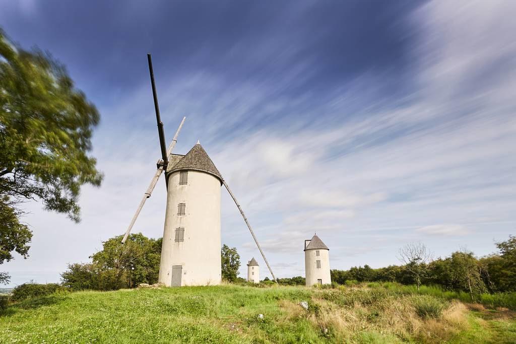 Vacances en Vendée et histoire Colline des Moulins - Mouilleron Saint Germain - Vendée