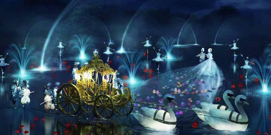 Nouveau spectacle nocturne du Puy du Fou à voir lors de votre séjour au gite de la Gravée